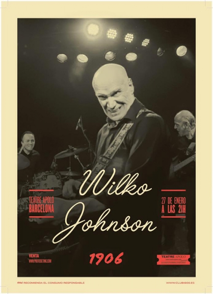 Wilko Johnson anuncia gira española en enero de 2016