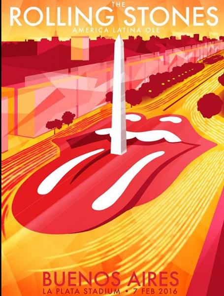 The Rolling Stones desatan la locura en Buenos Aires Argentina 2016