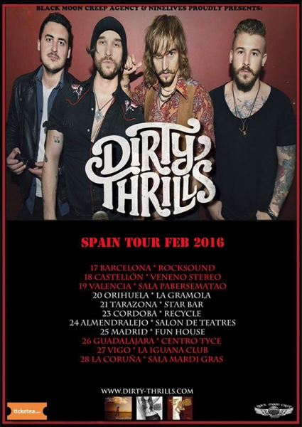 Entrevista a Dirty Thrills