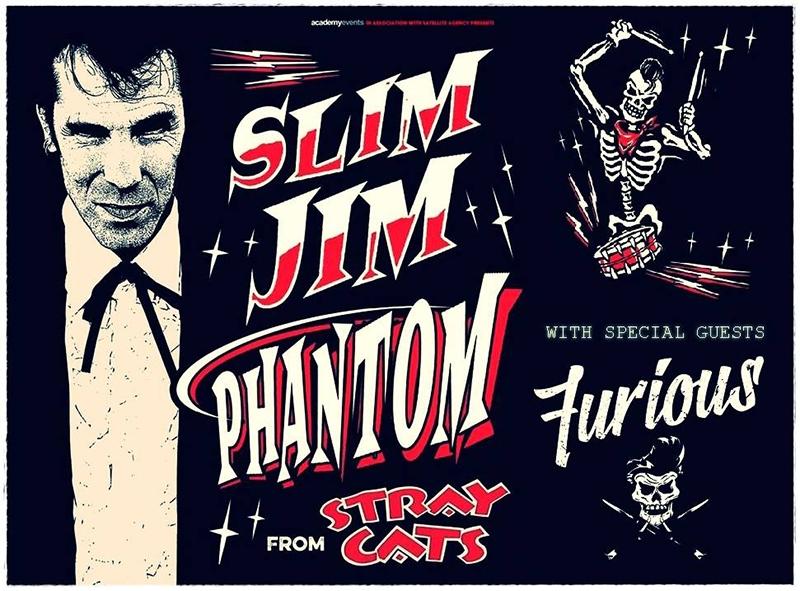 Slim Jim Phantom & Furious anuncia gira española en abril 2016