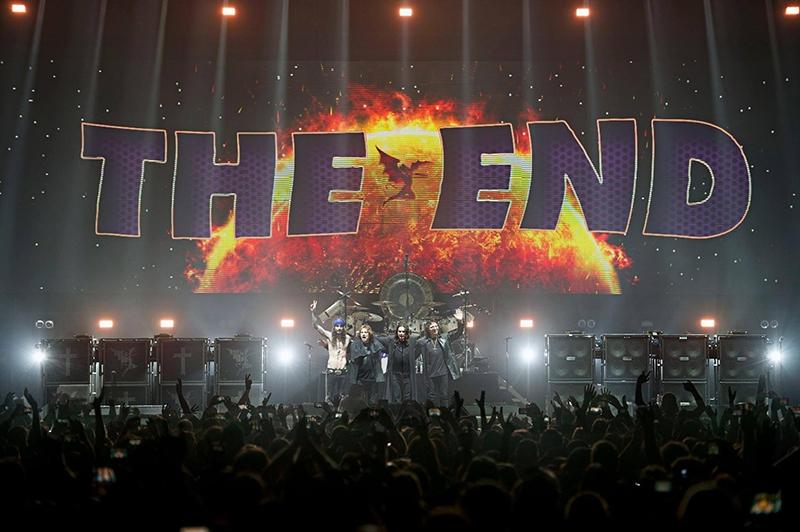 Black Sabbath publica el EP The End que podrá comprarse solamente en los conciertos de su gira de despedida 2016