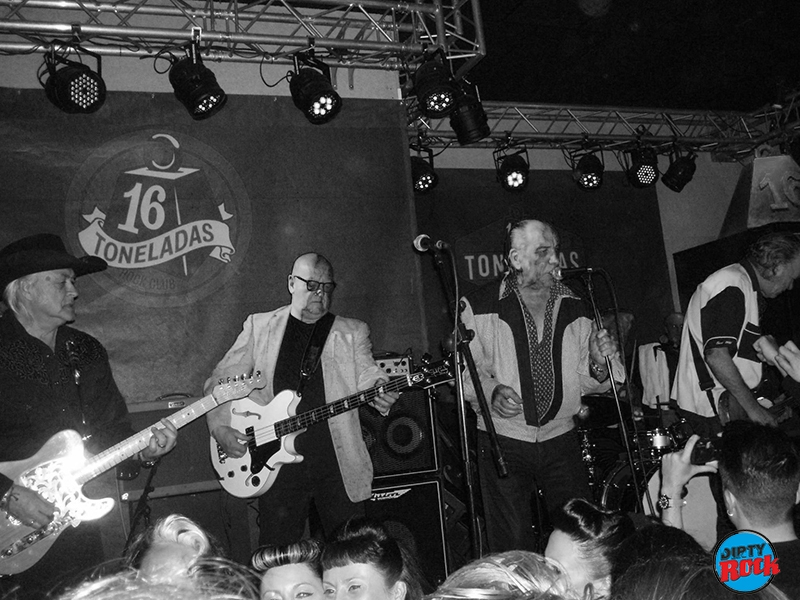 Crazy Cavan And The Rhythm Rockers en concierto Valencia