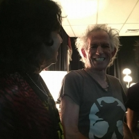 Golden Grahams con Rolling Stones Argentina Keith Richards y Ronnie Wood