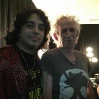 Golden Grahams con Rolling Stones Argentina