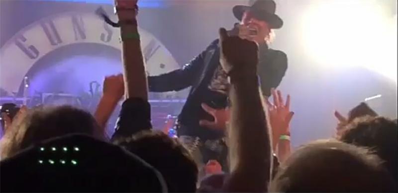 Guns N Roses concierto sorpresa en Los Angeles