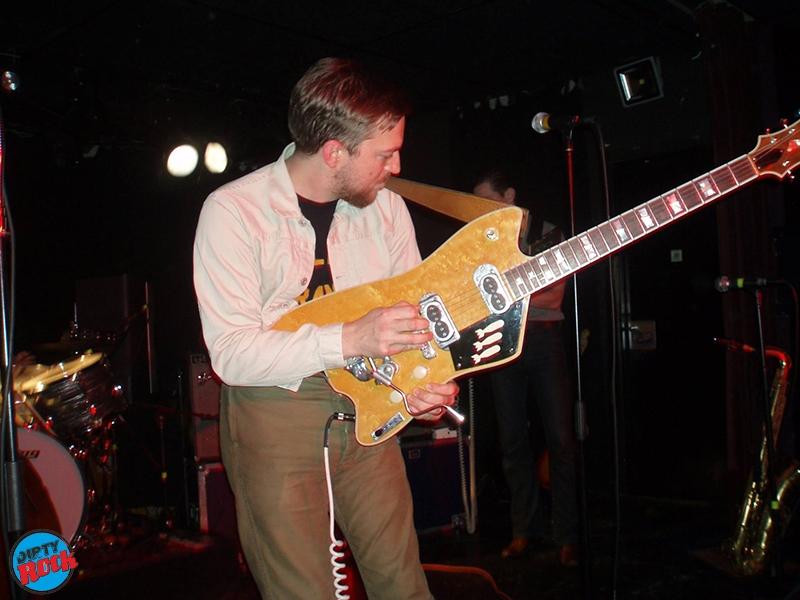 JD McPherson en concierto Valencia.1