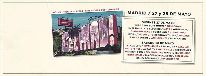Rival Sons al GetMAd festival en Madrid