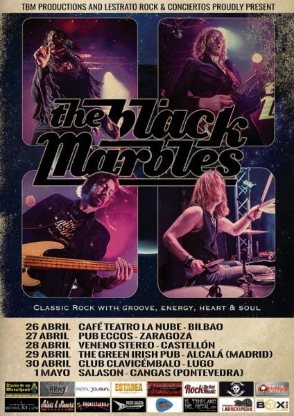 The Black Marbles entrevista gira española 2016