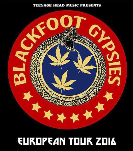 Blackfoot Gypsies gira española 2016 Tour