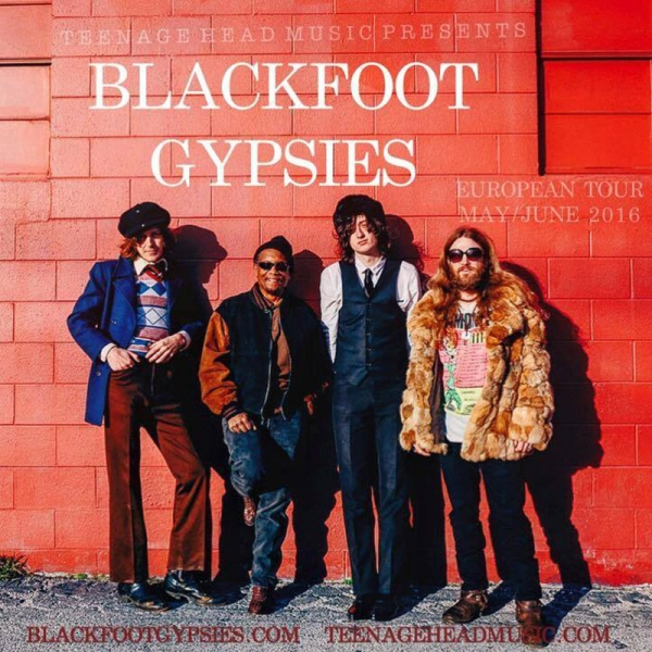 Blackfoot Gypsies presentan por primera vez en España y Europa Handle it 2016