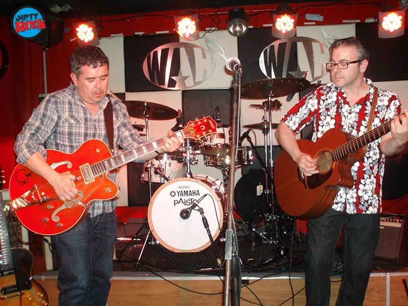 Twin Guitars en concierto Valencia