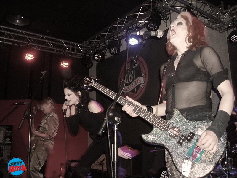 The Barracudas y The Priscilas, noche de garage, punk y rock and roll