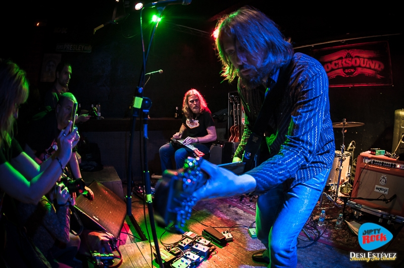 The Steepwater Band en Barcelona Get Yer Ya-Ya's Out 2016