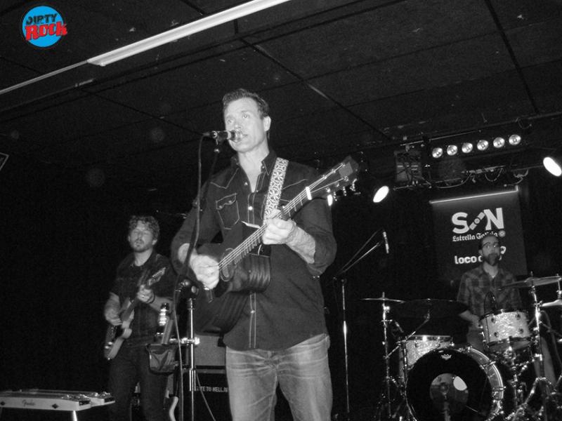 Corb Lund & The Hurtin' Albertans en concierto