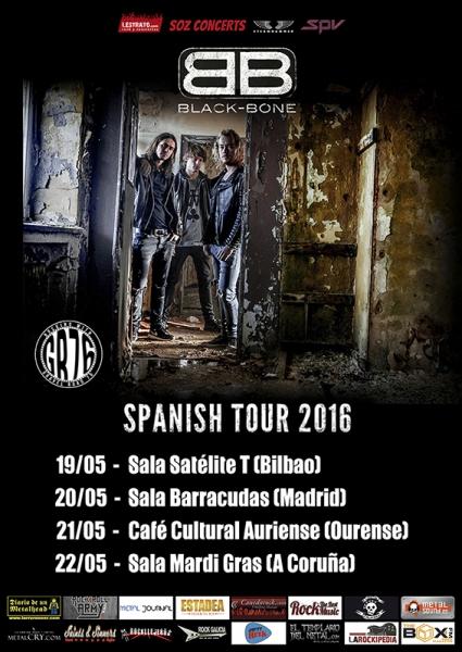 Black Bone gira española en mayo 2016