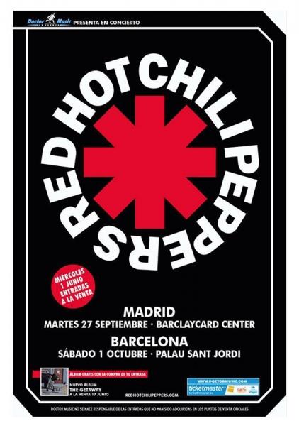 Red Hot Chili Peppers anuncian nuevo disco The Gateway y conciertos en Madrid y Barcelona