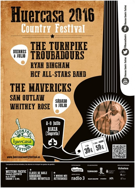 Huercasa Country Festival cierra su cartel con The Mavericks, The Turnpike Troubadours y Whitney Rose