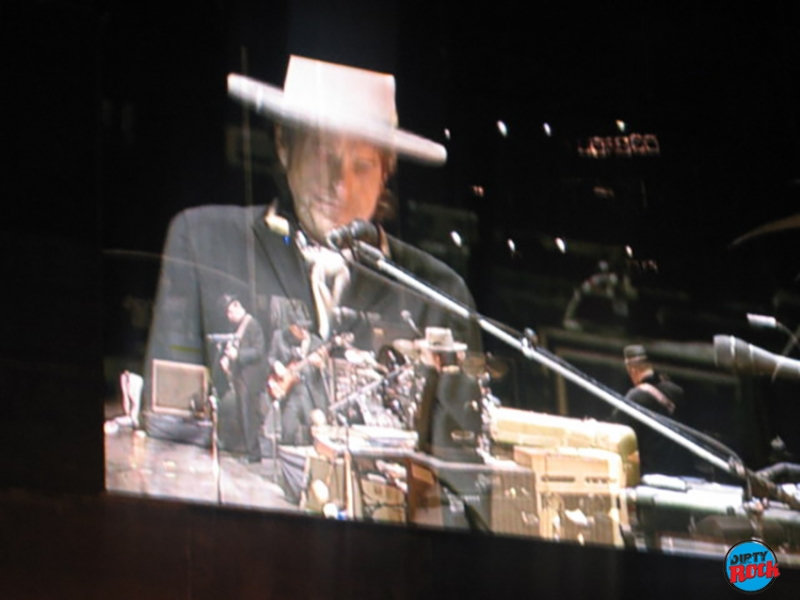 Bob Dylan crónica Madrid Rock in Rio 2008