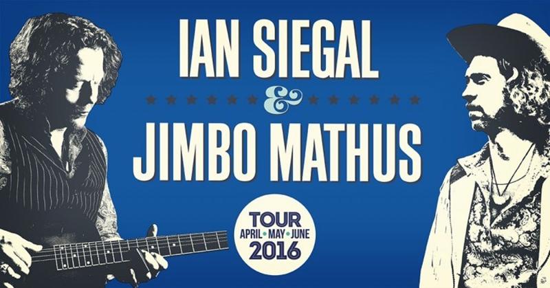 Ian Siegal & Jimbo Mathus publican Wayward Sons gira