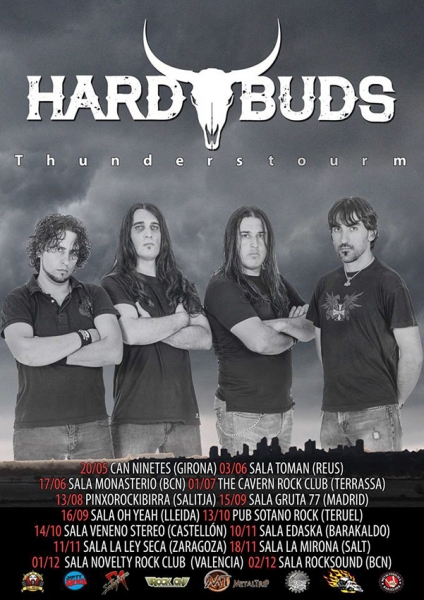 Hard Buds publican nuevo disco Thunderstorm