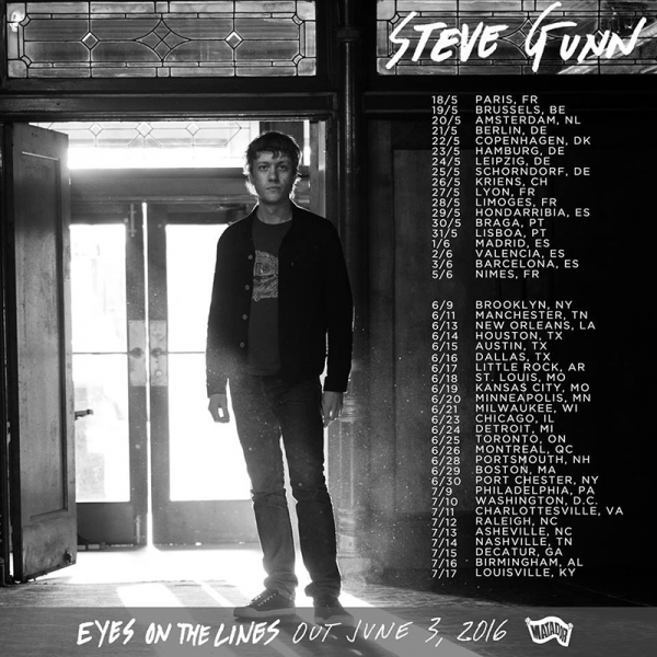 Steve Gunn anuncia nuevo disco Eyes on the Lines y gira en España 2016