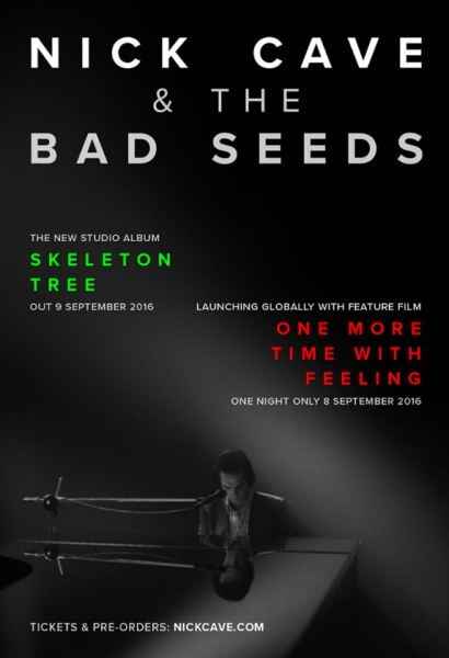 Nick Cave & The Bad Seeds lanzarán nuevo álbum Skeleton Tree