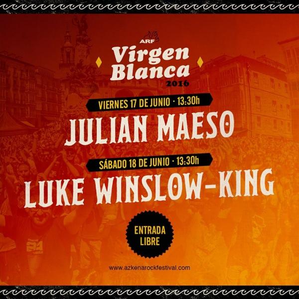Azkena Rock Festival 2016 Julián Maeso y Luke Winslow-King