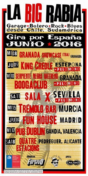 La Big Rabia publica nuevo disco y anuncia gira española 2016
