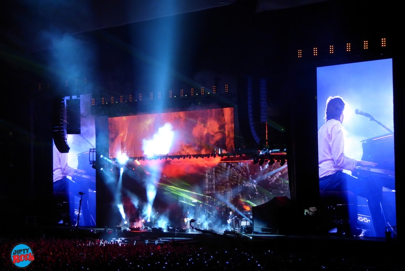 Paul McCartney en Madrid 2016.8