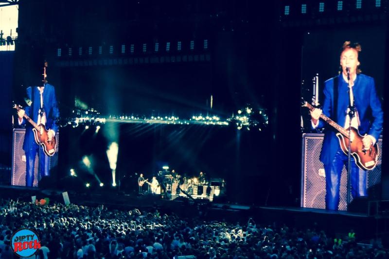Paul McCartney en Madrid 2016