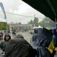 Azkena Rock festival 2016 lluvia