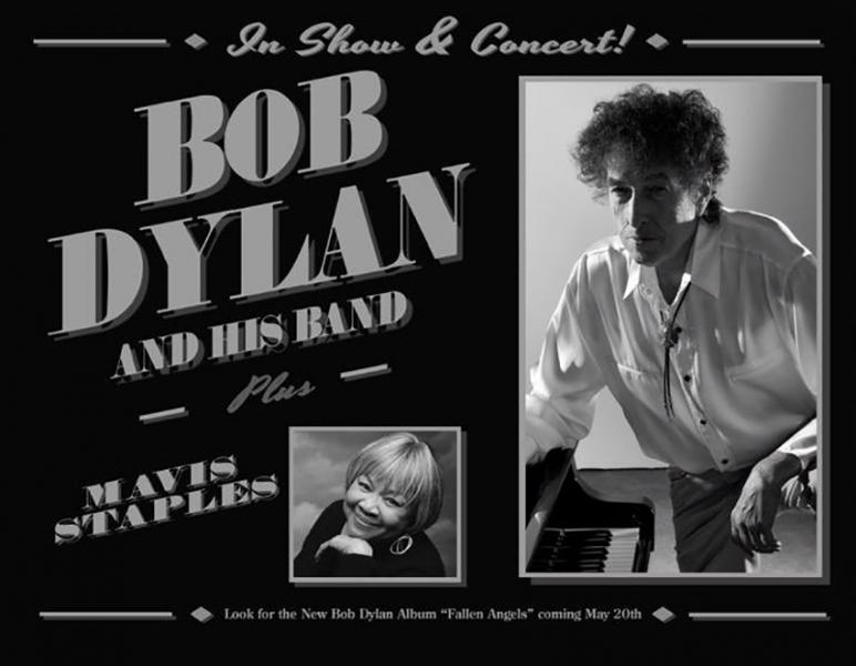 Fallen Angels nuevo disco de Bob Dylan y gira con Mavis Staples
