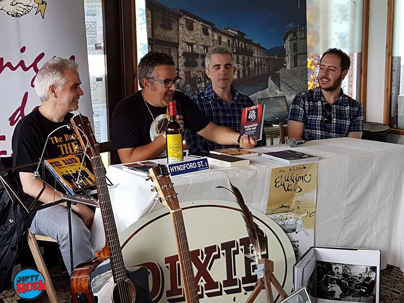 Fernando Navarro, Joserra Rodrigo, Mikel Muñoz y Miguel López El Último vals Frías