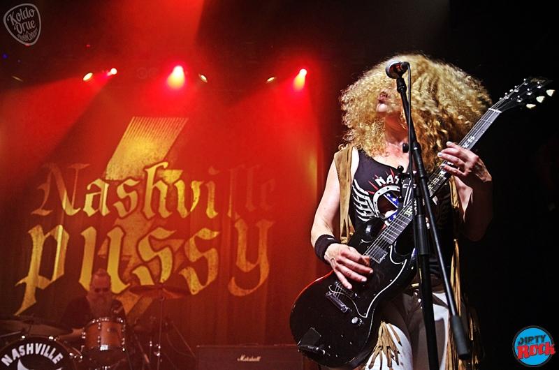 Nashville Pussy en Bilbao Kafe Antzokia 2016.12