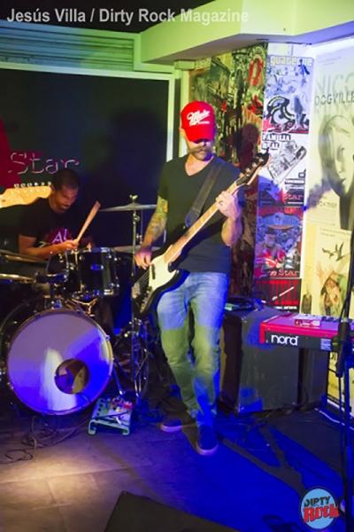 Cord Carpenter Band y Rami Jaffee concierto Lone Star Tenerife.8