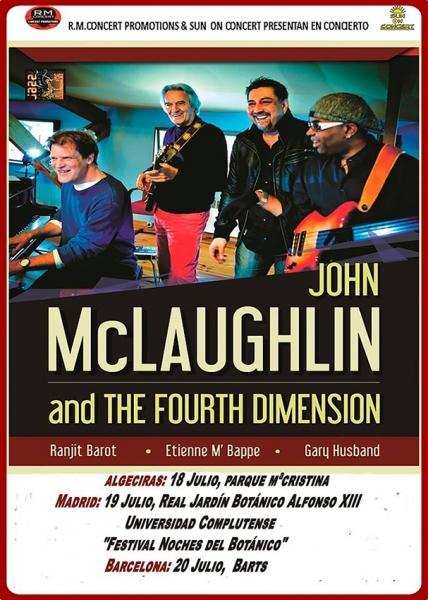 Entrevista a John McLaughlin gira española 2016