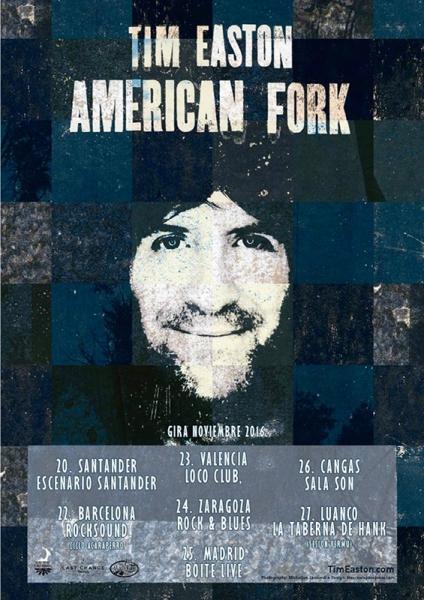 Tim Easton anuncia gira española para presentar nuevo disco American Fork 2016
