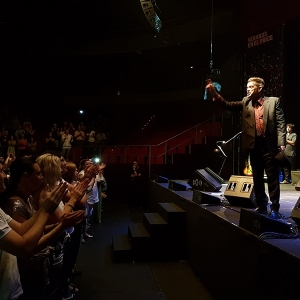 Juan Perro y su sexteto en el Teatro Circo Price de Madrid 2016.1