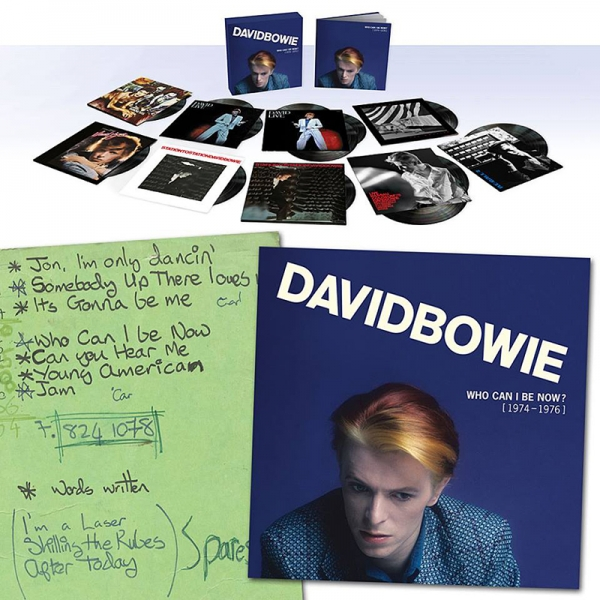 David Bowie nueva caja Who Can I Be Now (1974 – 1976). 2016