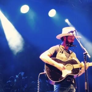 Ryan Bingham en el Huercasa Country Festival 2016.