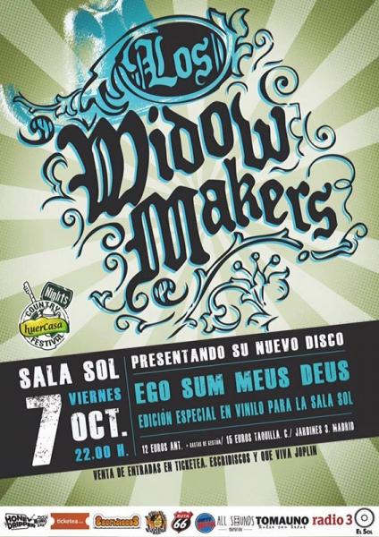 Los Widow Makers presentan su nuevo disco Ego Sum Meus Deus