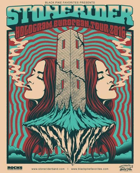 Stonerider presentan en octubre su nuevo disco Hologram en España
