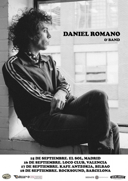 cartel gira 2016 Dani Romano