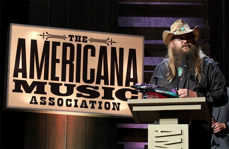 Ganadores de los premios de la Americana Music 2016. Chris Stapleton