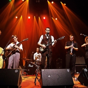 Ghosh Number & his Tipsy Gypsies en Kafe Antzokia 2016