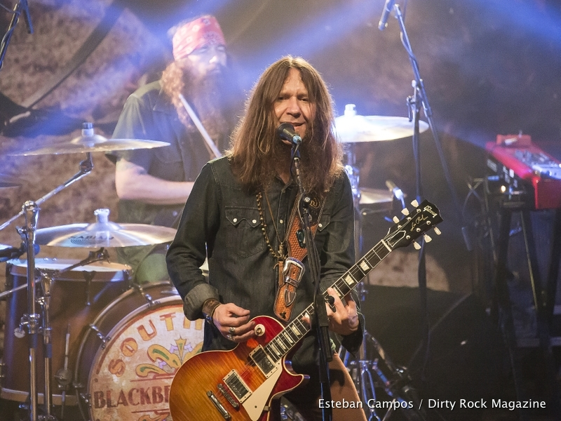 Blackberry Smoke en Madrid y Barcelona en marzo de 2017.1