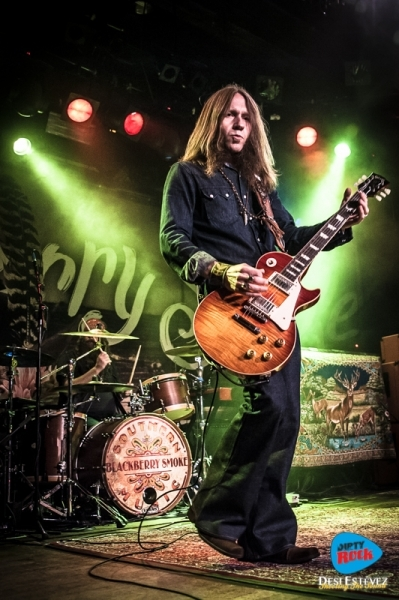 Blackberry Smoke en Madrid y Barcelona en marzo de 2017.3