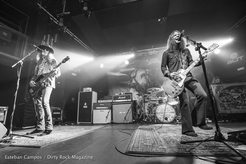 Blackberry Smoke en Madrid y Barcelona en marzo de 2017