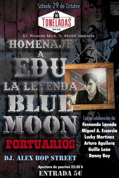 Homenaje a Edu, la leyenda Blue Moon