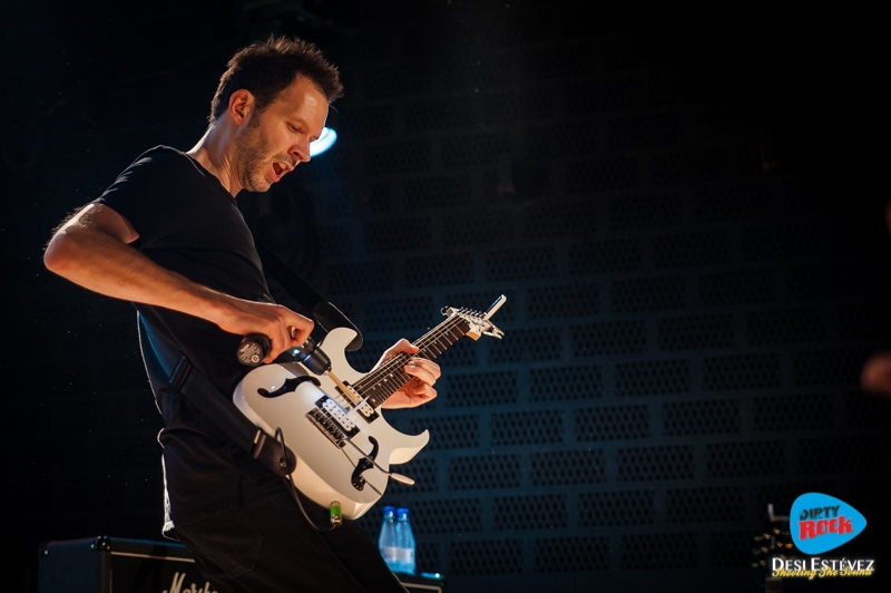 Paul Gilbert en concierto Madrid 2016.1